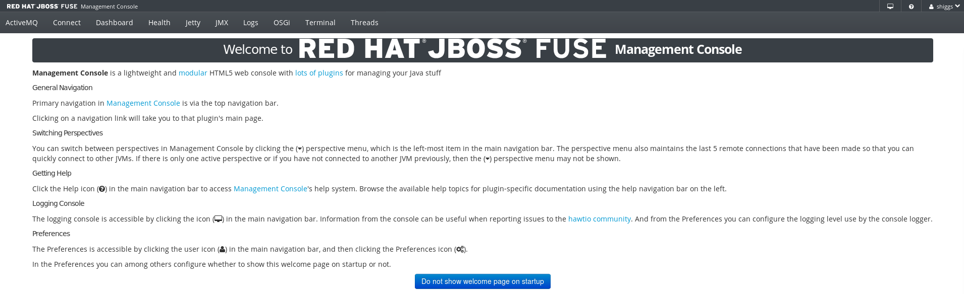 Fuse Logged In